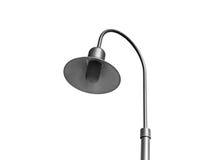 Black old street lamp Stock Image