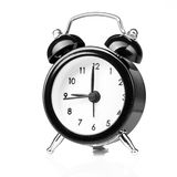 Black old style alarm clock Royalty Free Stock Photography