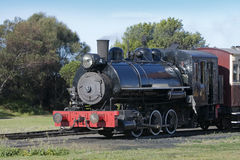 Black old train Royalty Free Stock Photography
