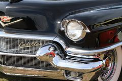 Black. Old vintage car grill Royalty Free Stock Photos