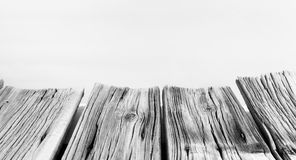 Black and old white wood texture macro Royalty Free Stock Images