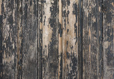 Black old wood texture Stock Photography