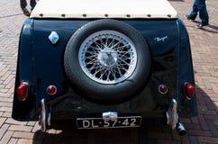 Black oldtimer car Stock Image
