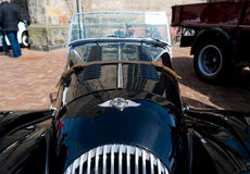 Black oldtimer car Royalty Free Stock Photos