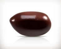 Black olive  icon Royalty Free Stock Images