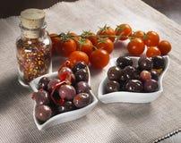 Black olives Royalty Free Stock Images