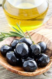 Black olives Royalty Free Stock Photos