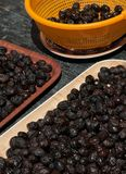 Black olives Royalty Free Stock Photo