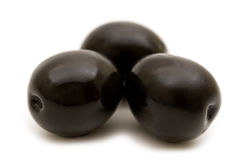 Black olives Stock Photography
