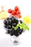 Black olives close up Royalty Free Stock Image