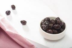 Black olives Royalty Free Stock Photography