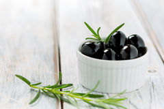 Black olives Royalty Free Stock Photo