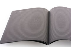 Black open book note Stock Photo