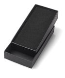 Black Open Gift Box Stock Photography