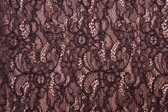 Black openwork lace background texture Royalty Free Stock Photography
