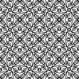 Black Openwork Pattern Royalty Free Stock Images