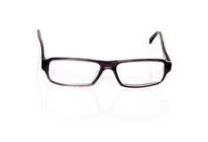Black Optical Glasses On White Royalty Free Stock Images