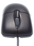 Black Optical Mouse Stock Photo