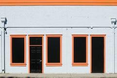 Black and Orange stock images