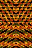 Black and orange striped pattern Stock Photo