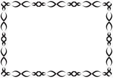 Black ornament frame Royalty Free Stock Image