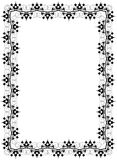 Black ornament frame Royalty Free Stock Image