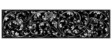 Black ornament Royalty Free Stock Image