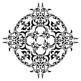 Black ornamental design Royalty Free Stock Photography