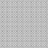 Black ornate seamless pattern, interlaced lines. Transparent background. The swatch is included in vector file Stock Photos