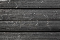 Black outdoor wooden wall background texture Stock Image