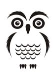 Black owl Royalty Free Stock Photos