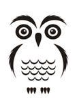 Black owl Royalty Free Stock Photos
