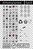 89 Black Packing Symbols Stock Photos