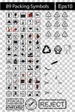 89 Black Packing Symbols Stock Photos