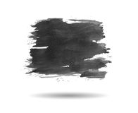 Black paint background Stock Photo