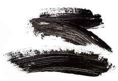 Black paint Royalty Free Stock Images