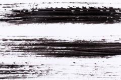 Black paint isolated on white background Stock Photography