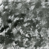 Black paint splashes on canvas Royalty Free Stock Photography