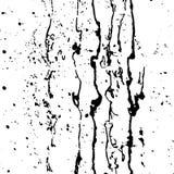 Black paint splashes. Vector illustration stock illustration