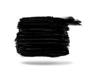 Black paint Stock Photo