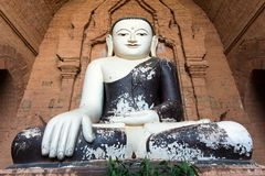 Black painted Buddha Royalty Free Stock Photo
