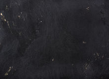 Black painted plywood texture, background or wallpaper Stock Photography