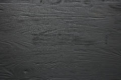 Black  painted wooden texture, background and wallpaper. Stock Photo