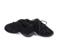 Black pair of dance shoes. Stock Photography