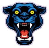 Black panther mascot Royalty Free Stock Image