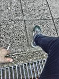 cigarette, concrete, leg, arm, ghetto, sneakers, hdr stock photos