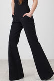 Black pants on white Royalty Free Stock Photography