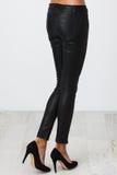Black pants on white Stock Photography