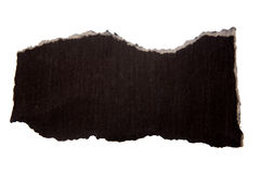 Black paper Stock Photo
