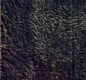 Black paper. Crumpled black paper- grunge background Stock Image